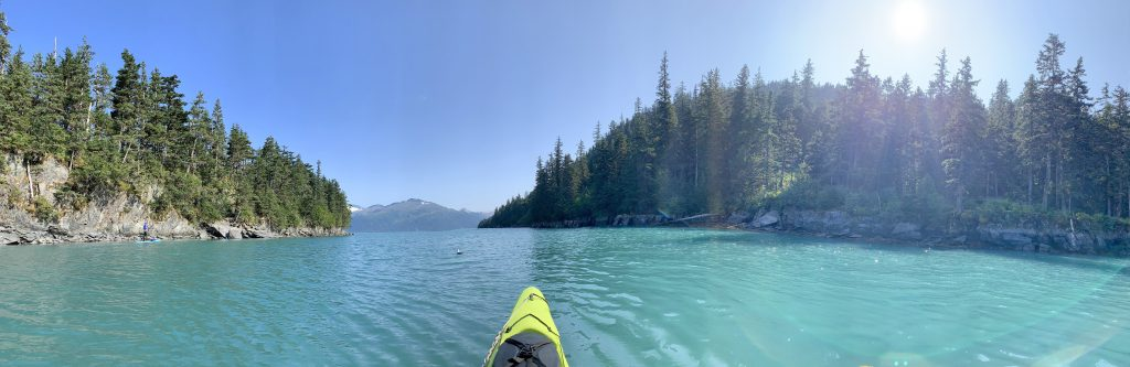 Kayaking in Whittier