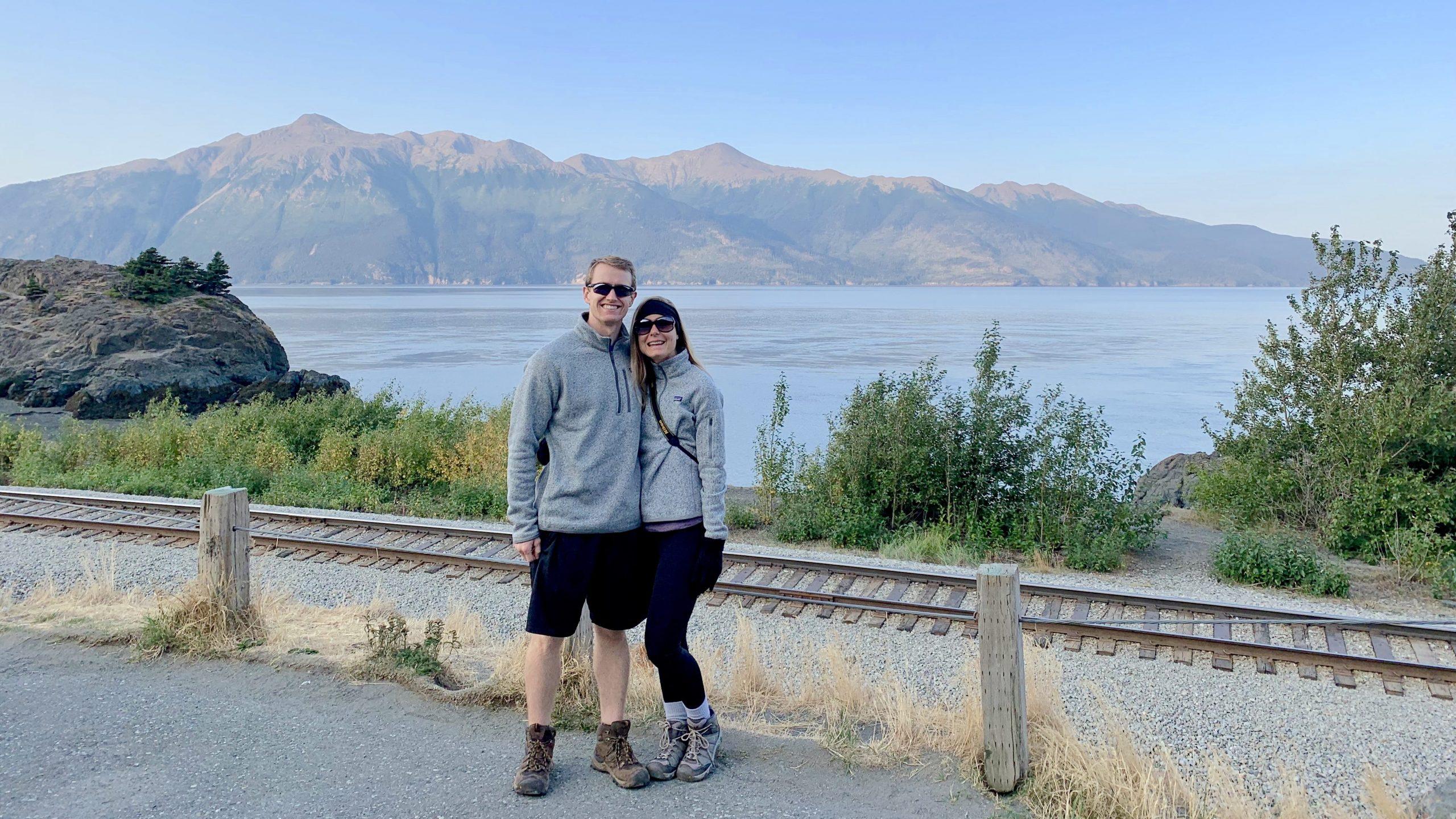 Beluga Point Lookout Alaska Road Trip Stop