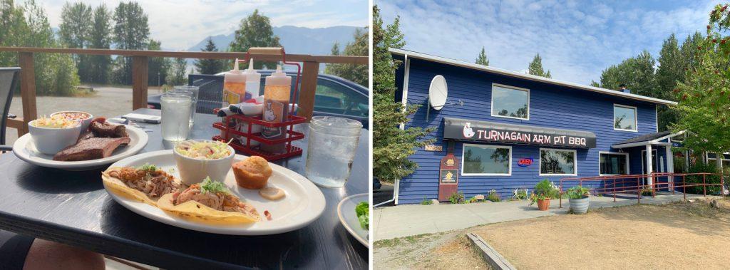 Turnagain Arm Pit BBQ Alaska Road Trip Stop
