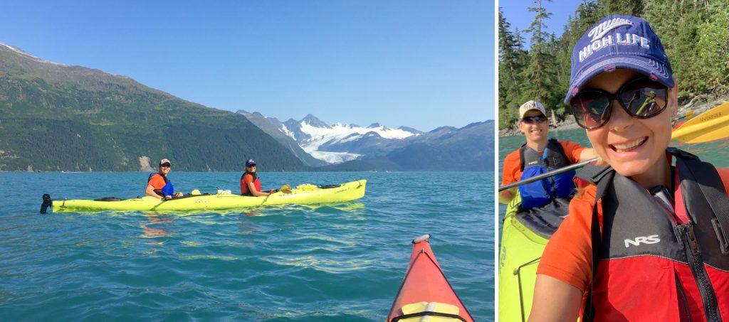 Kayaking in Whittier,