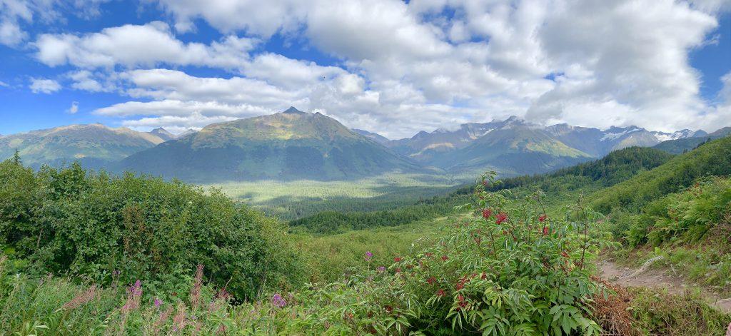 Northface Trail at Alyeska Ski Resort, Alaska Road Trip Stop