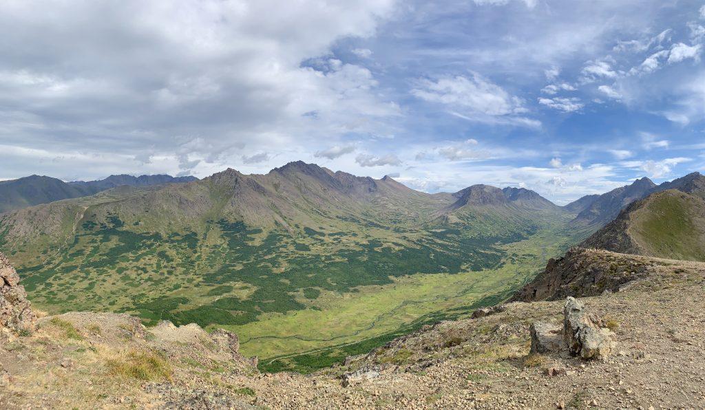 Hiking Flattop Mountain in Chugach State Park, Alaska Road Trip Stop