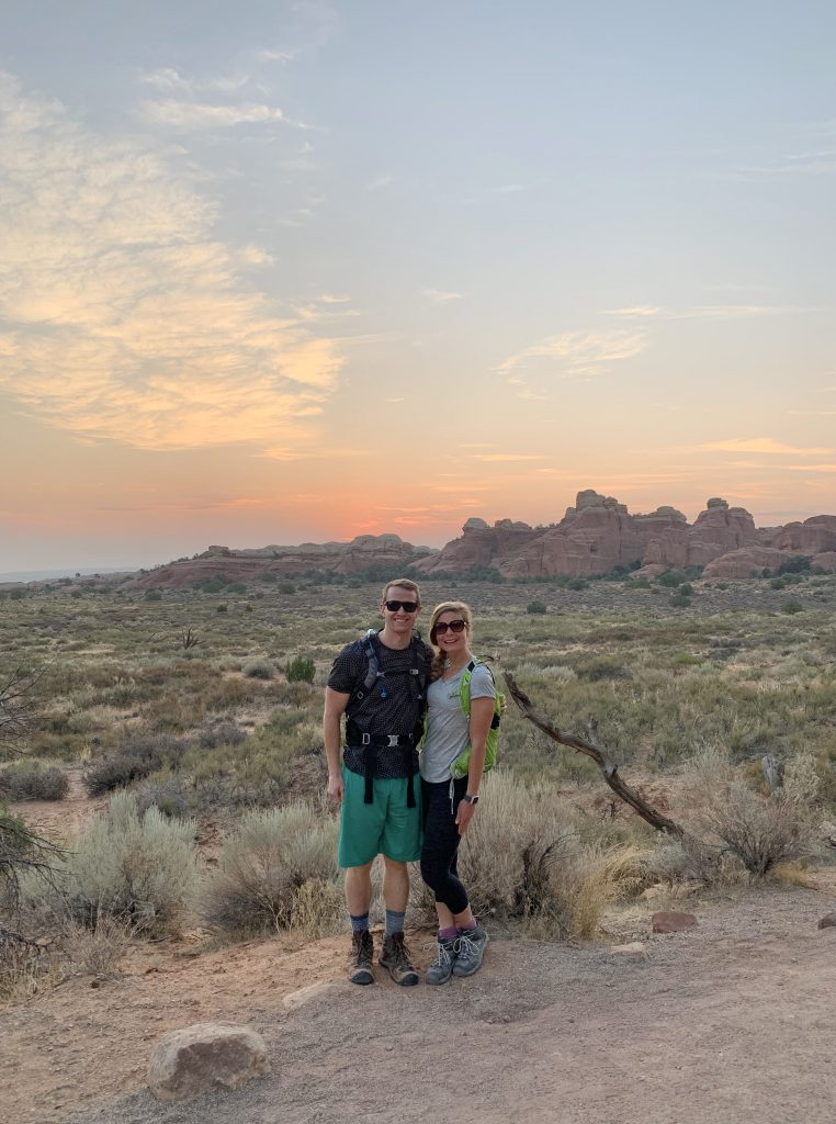 Sunrise, Arches National Park