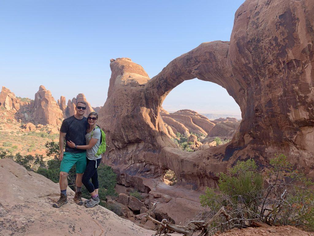 Double Arch on Devil's Garden Trail, Canyonlands National Park