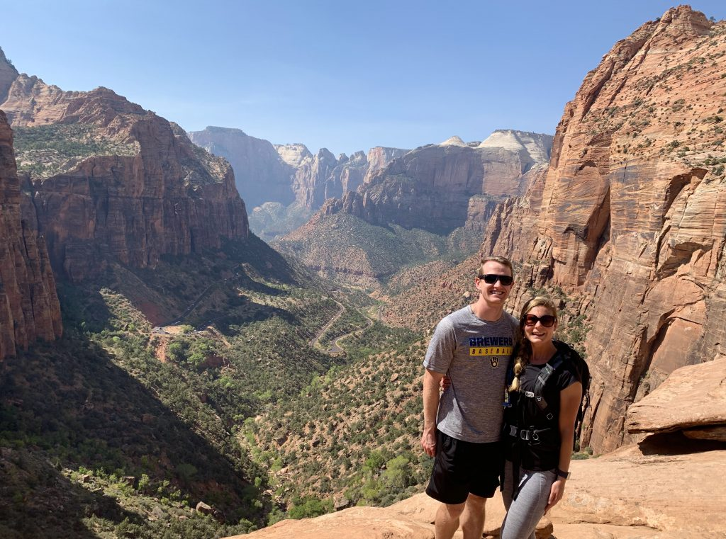 Canyon Overlook Trail, Zion National Park, Utah National Parks/Southwest Road Trip
