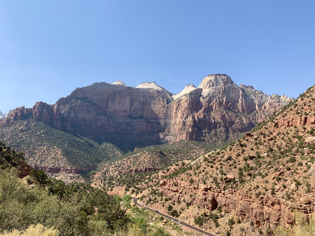 East Side of Zion National Park