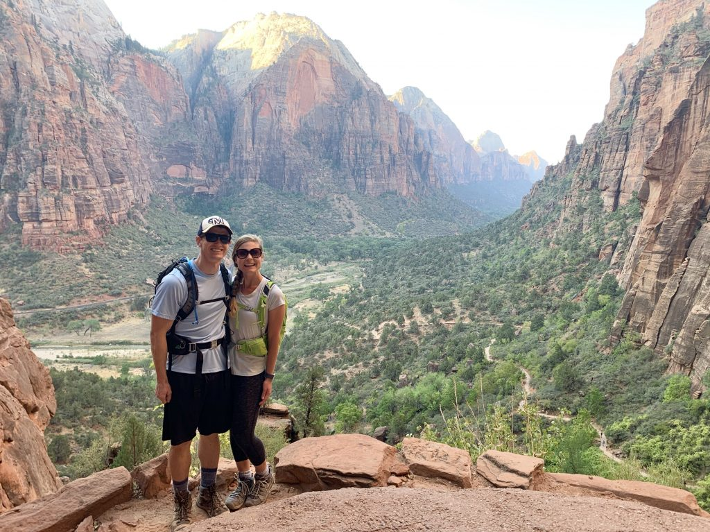 Views on Trail Leading up to Angel's Landing