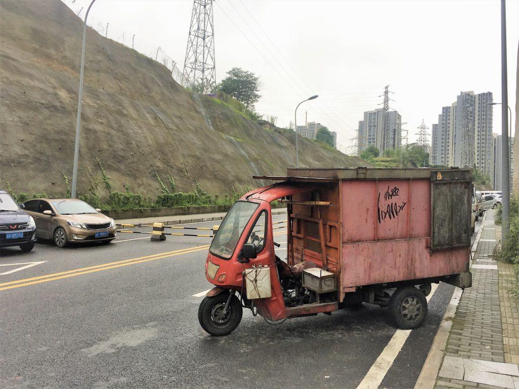 Morning walk in Chongqing, China