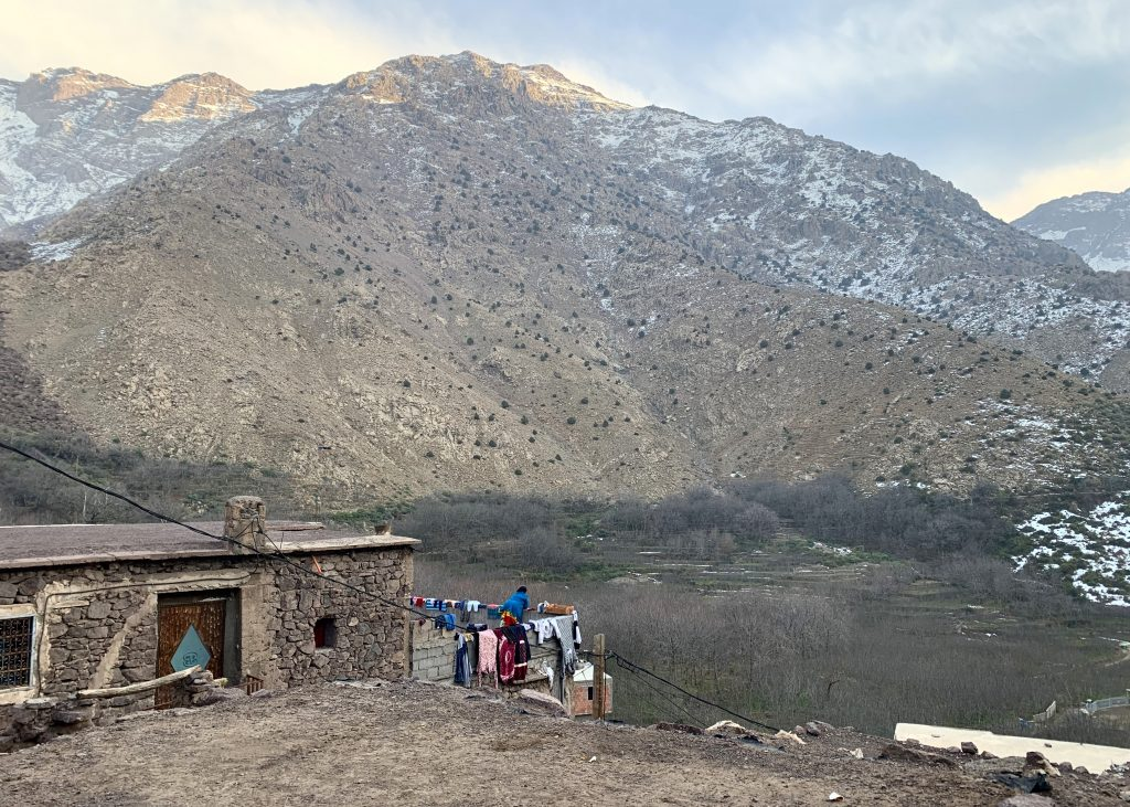 Aroumd Berber Village in the High Atlas Mountains