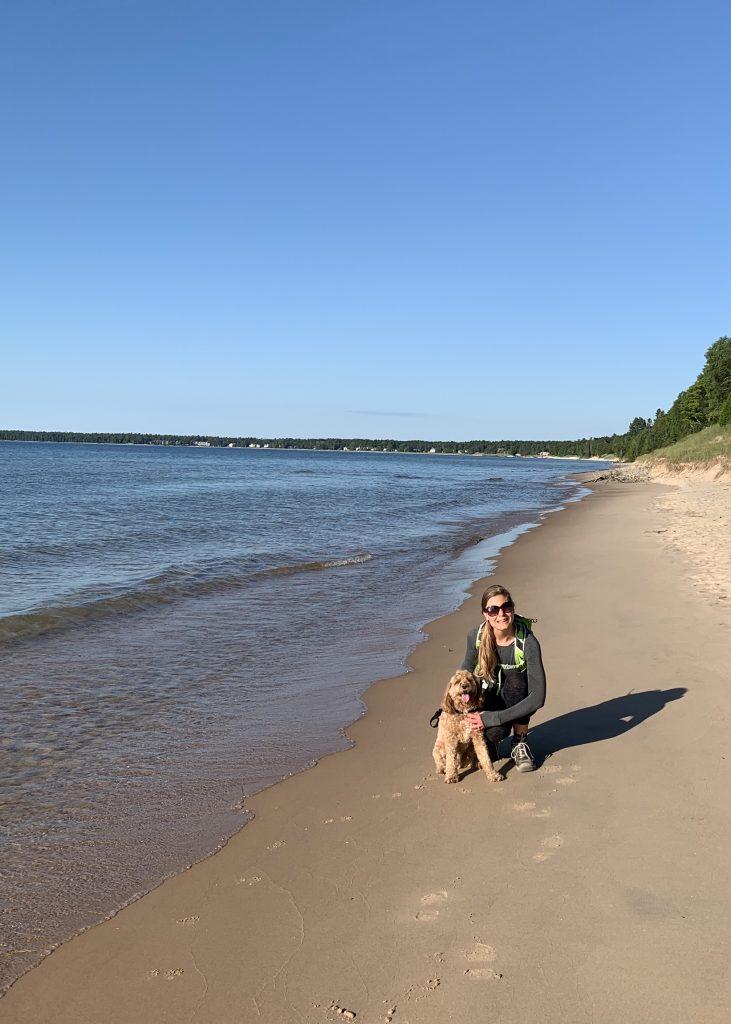 Whitefish Dunes State Park Dog Beach