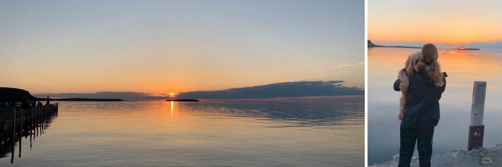 Ephraim Sunset, Door County Wisconsin