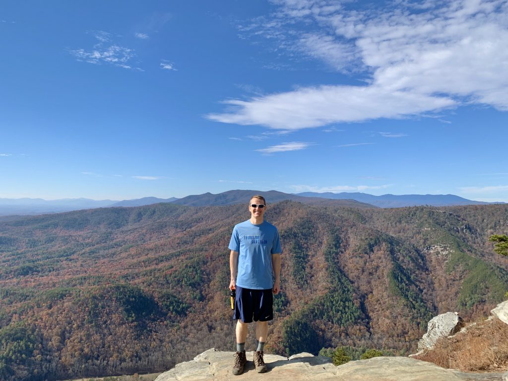 Linville Gorge Views from Shortoff Mountain