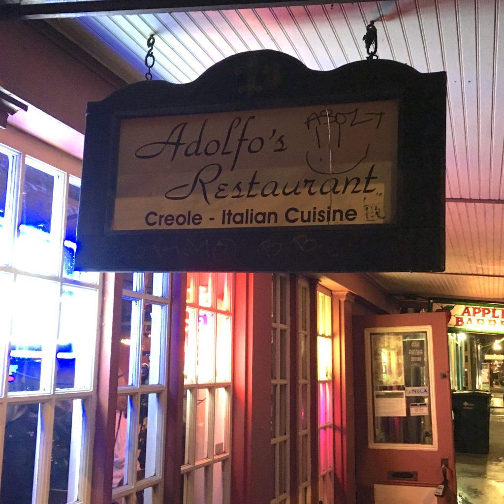 Adolfo's, New Orleans