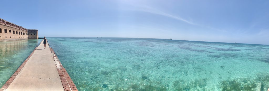 Moat Views, Dry Tortugas National Park