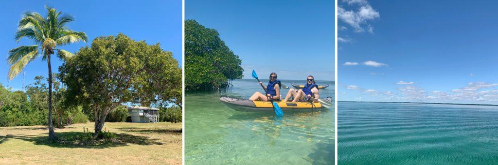 Adams Key (left) Biscayne National Park, Kayaking & Water (middle & right) Biscayne National Park