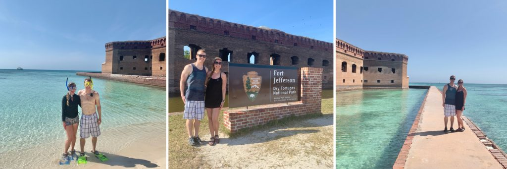 Snorkeling, Fort & Moat, Dry Tortugas National Park