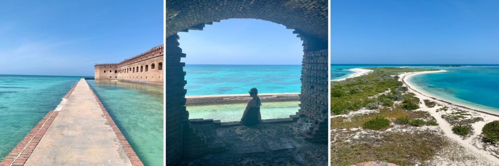 Water Views from Fort Jefferson, Dry Tortugas National Park
