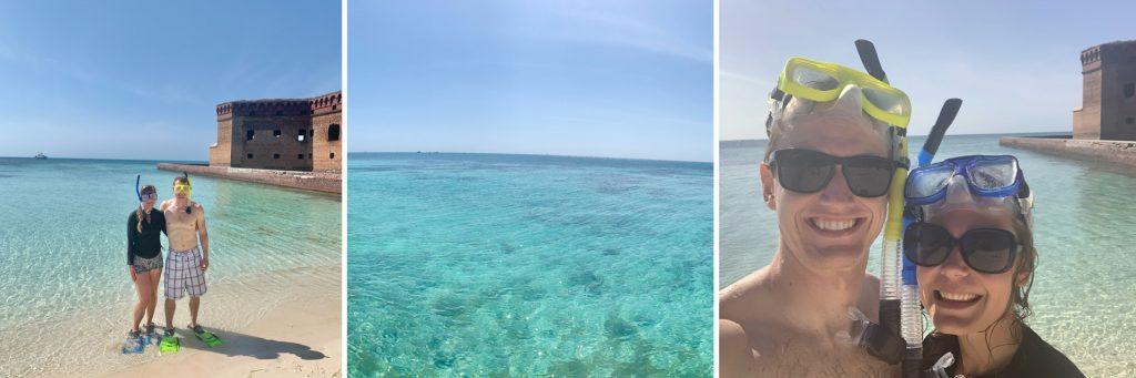 Snorkeling Dry Tortugas National Park